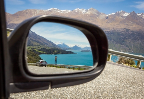 Bennetts Bluff in the mirror 1 credit Esther Small